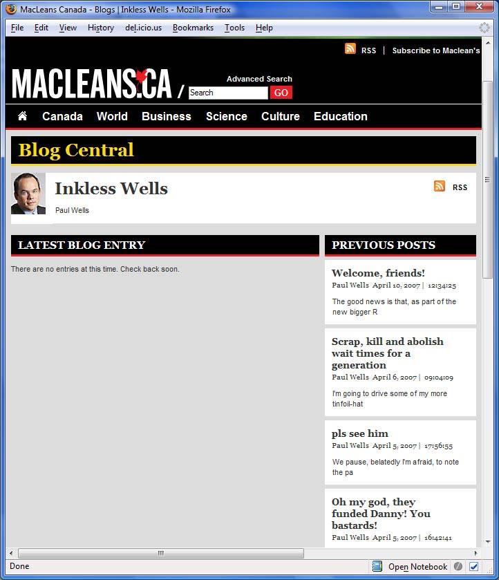 CensoredWells?